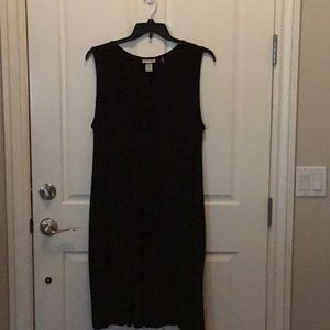 Plus size black dresss